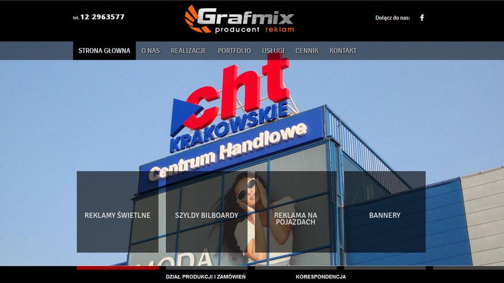 Strona www.grafmix.pl