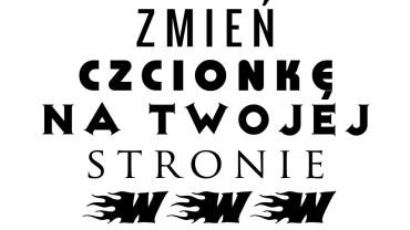 Polskie czcionki