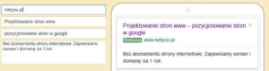Reklama tekstowa w Google AdWords zasady