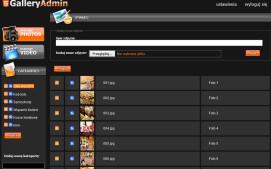 HTML5 GalleryAdmin