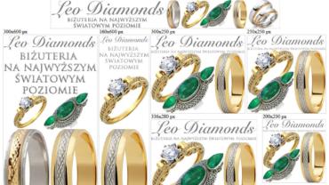Banery reklamowe dla leodiamonds.eu