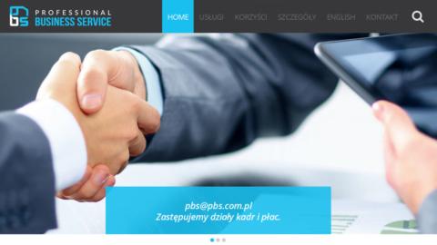 Strona www.pbs.com.pl