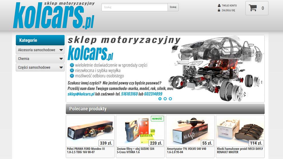 Sklep www.kolcars.pl