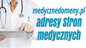 Domeny medyczne dla lekarzy.