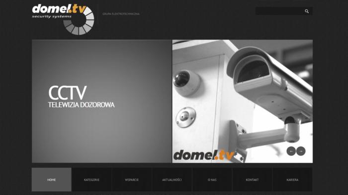 Strona www.domel.tv