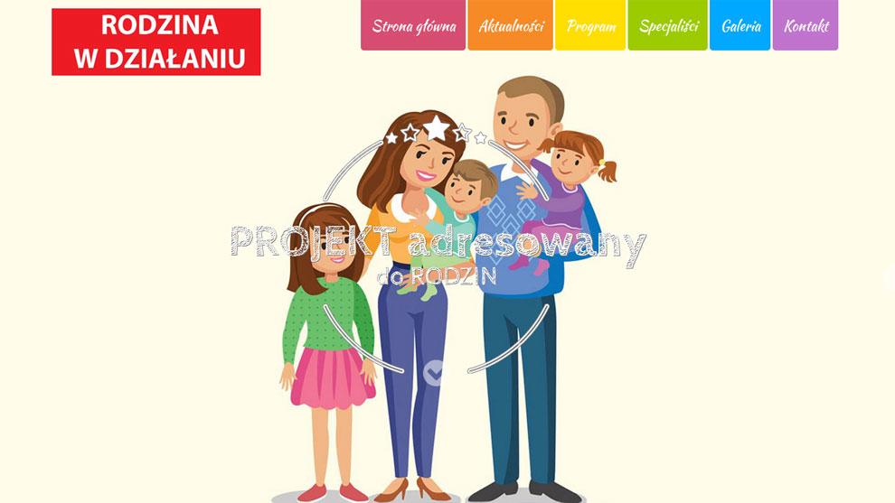 Strona www.rodzinawdzialaniu.pl
