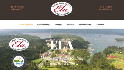 Strona www.apartamentysolina.pl