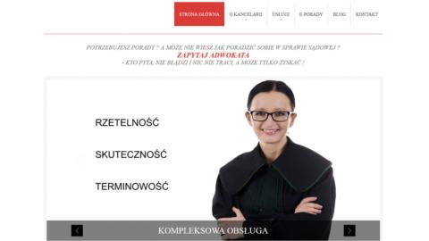 Strona www.kancelariaulewicz.pl