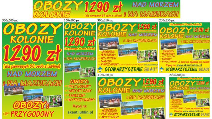 Banery statyczne dla skaut.lublin.pl