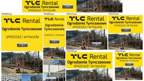 Banery statyczne dla tlcrental.pl
