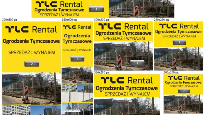 Banery reklamowe dla tlcrental.pl