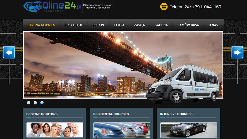 Strona www.qline24.pl