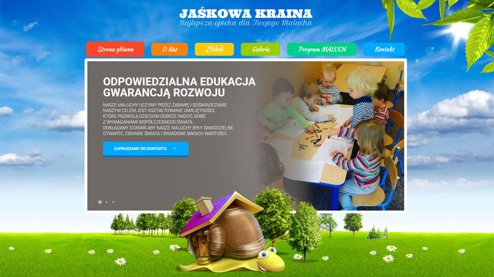 Strona www.jaskowakraina.pl