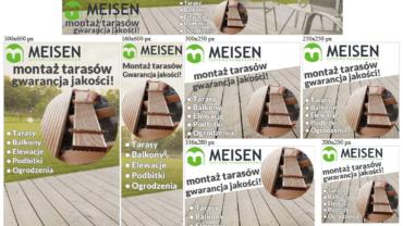Banery reklamowe (statyczne) dla meisen.pl