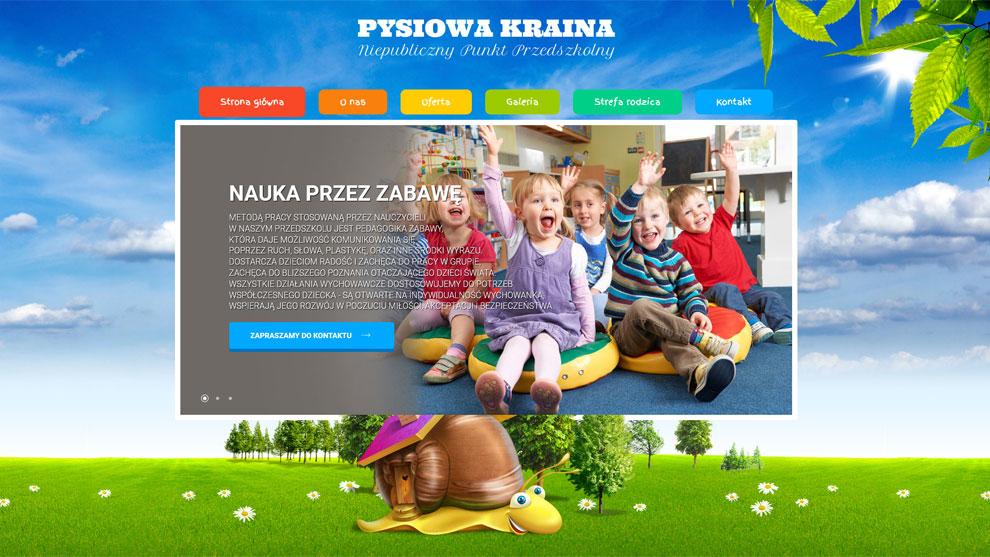 Strona internetowa dla www.pysiowakraina.pl