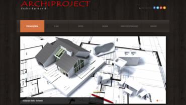 Strona internetowa www.archiproject-shultz-bartkowski.pl