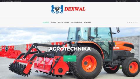 Strona internetowa nowastrona.dexwal.com