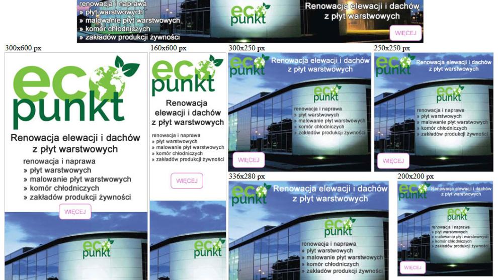Banery statyczne dla ecopunkt.bizdg.pl