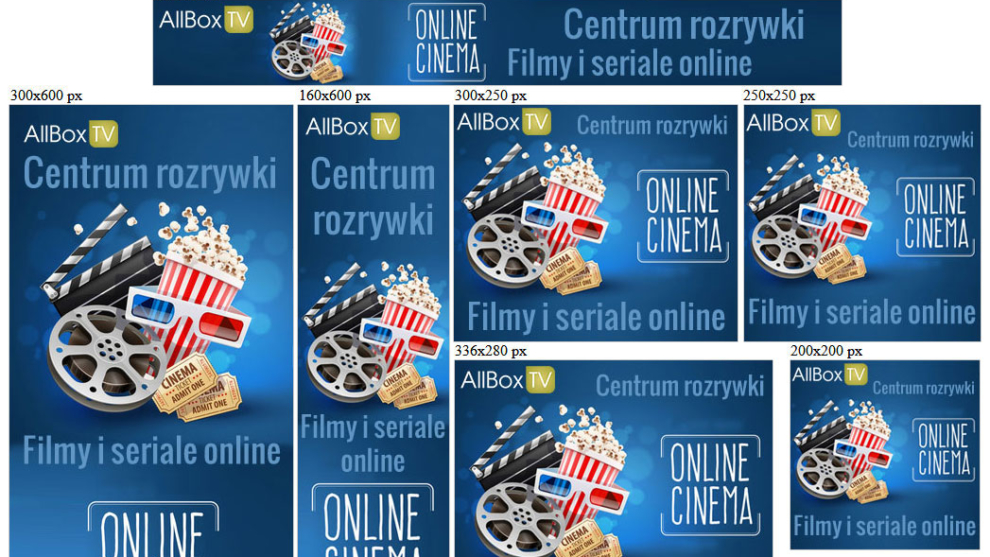 Banery statyczne dla allbox.tv
