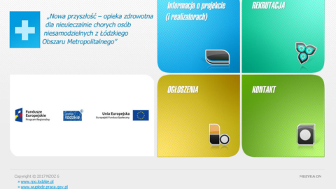 Strona internetowa nzoz6.pl