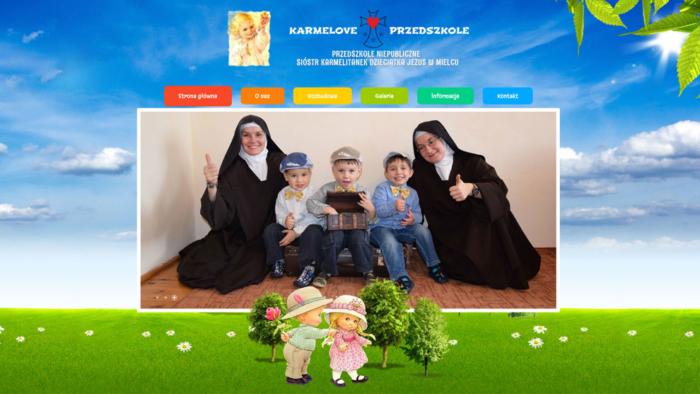 Strona www karmeloveprzedszkole.pl