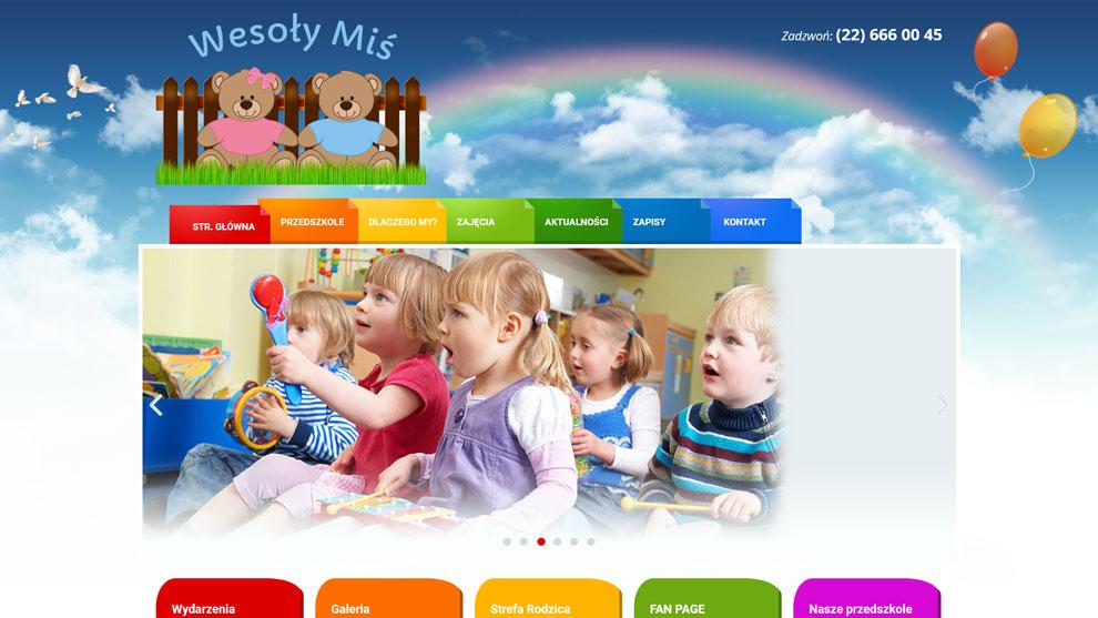 Strona www.wesolymis.pl