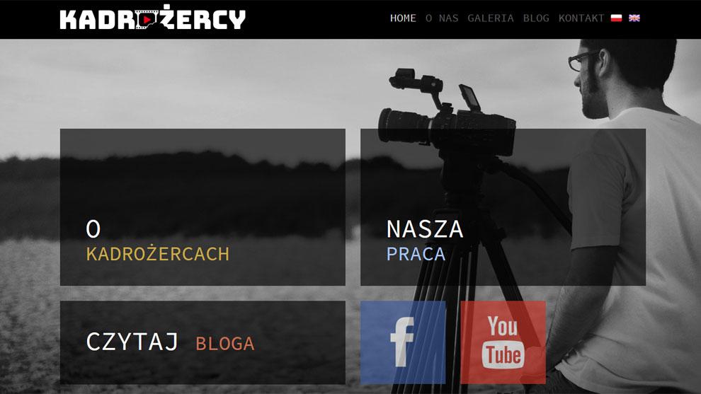Strona www.kadrozercy.pl