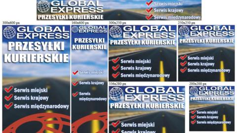 Banery statyczne dla globalexpress.pl