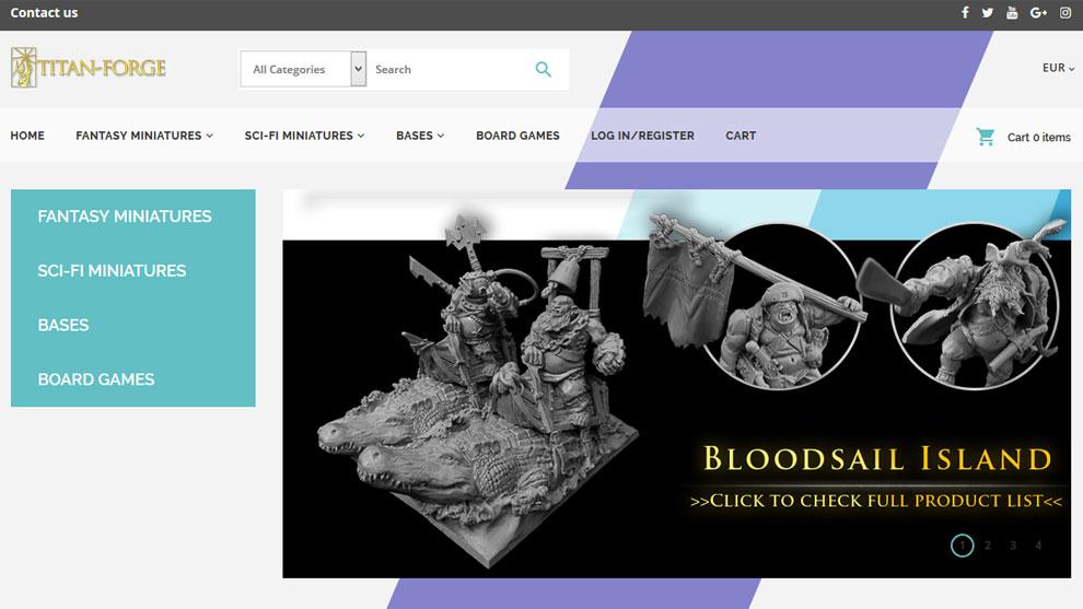 Sklep internetowy www.titan-forge.com