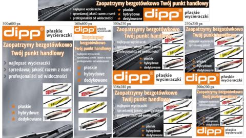 Banery statyczne dla www.dipp.com.pl