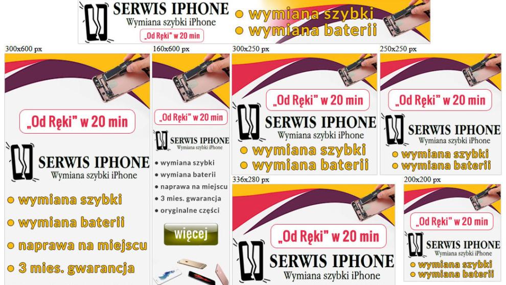 Banery statyczne dla www.macintosz.pl