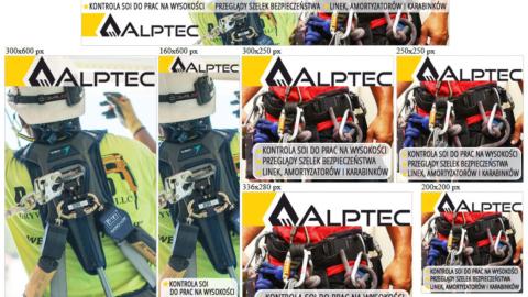 Banery statyczne dla www.alptec.pl