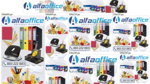 Banery statyczne dla www.alfaoffice.pl