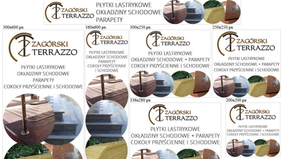 Banery statyczne dla www.zagorski-terrazzo.pl
