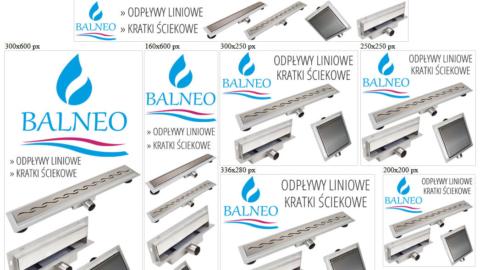 Banery statyczne dla www.balneo24.pl