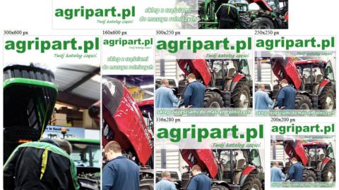 Banery statyczne dla www.agripart.pl