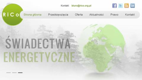 Strona www.rico.org.pl