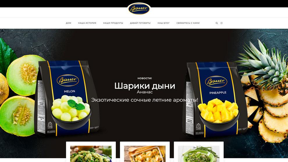 Strona www.bauer-foods.pl
